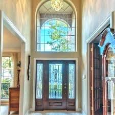inspiring front door stained glass stained glass front doors window above front door stained glass window