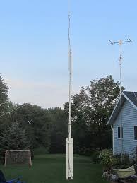 Amateur radio crank up steel masts