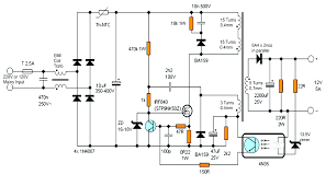 smps circuit diagram pdf smps image wiring diagram 12v 5 amp transformerless battery charger circuit smps based on smps circuit diagram pdf