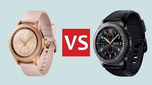 Samsung Watch Comparison Chart Samsung Galaxy Watch Vs Samsung Gear S3 Whats Changed T3