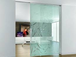 sandblasted glass sliding door without frame beta zefira