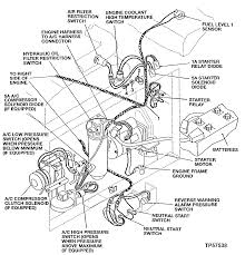 Engine wiring harness leftt side 543490