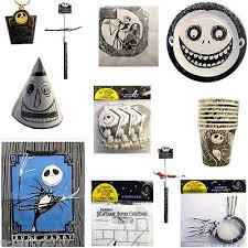 NIGHTMARE BEFORE CHRISTMAS Birthday Halloween Party Supplies ~ Pick 1 or  Many