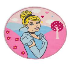 details about disney princess enchanting cinderella rug round mat girls kids childrens bedroom