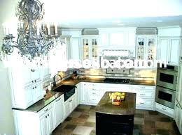 white cabinets with dark granite perfect kitchen