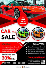 Download Free Car Showroom Promotion Flyer Design Templates