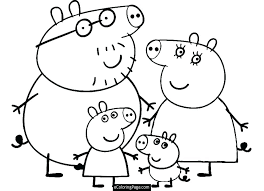 My Family Coloring Sheets Hoogstadinfo