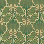 art nouveau camo fantasy on art deco wallpaper for walls with art nouveau fabric wallpaper gift wrap spoonflower