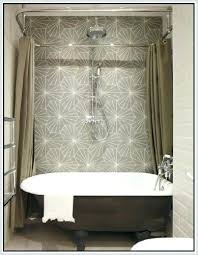 clawfoot tub glass shower enclosure medium size of bathtub shower combo kits bathtub shower surround kits clawfoot tub glass shower enclosure