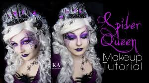 spider queen makeup tutorial you