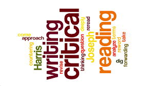 critical reading and writing english online critical  critical reading and writing wordle paige
