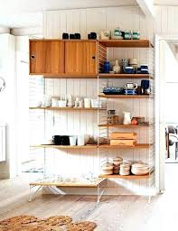 extra shelf for kitchen cabinet luxury ideas using open wall shelves
