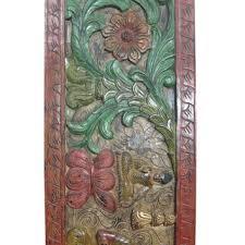 carved wood panels on wanelo