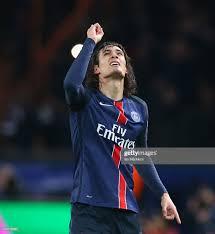 Edinson Cavani of Paris Saint Germain celebrates scoring during the... Foto  di attualità - Getty Images
