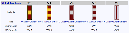 25 Qualified Cw4 Pay Chart