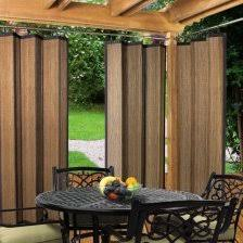 screened porch sheer curtains. Wonderful Outdoor Patio Curtain Panels #2 Bamboo Curtains Screened Porch Sheer