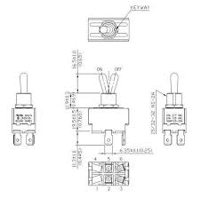 toggle switch 20 amp 0 250 flat terminal dpst on off on off toggle switch wiring diagram toggle switch 20 amp 0 250 flat terminal dpst on off