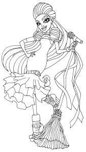 A Coloring Page Of Casta Fierce