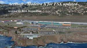 Lpma Airport Charts Aerosoft Madeira X Updated For Fsx Review