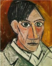 hey kids meet pablo picasso biography self portrait 1907 by pablo picasso oil on canvas