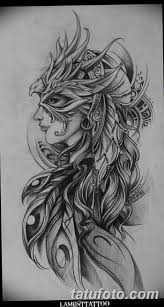 фото эскиз тату амазонка от 01052018 089 Sketch Of A Tattoo