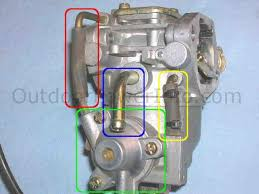 disassembly cleaning and repair of kohler command v twin nikki kohler command v twin nikki carburetor fuel inlet tube
