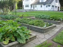 raised stone garden bedstraditional landscape seattle
