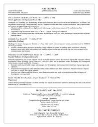embedded linux software developer resume linux test engineer
