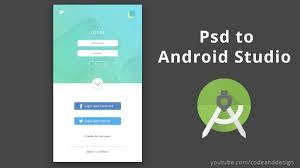 Android Studio Ui Designer Tutorial Ui Design Tutorial In Photoshop Mobile App Login Page On