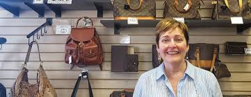 closet revival owner cynthia riley takes pride in her collection of louis vuitton handbags