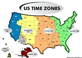 Us Time Zone Guide