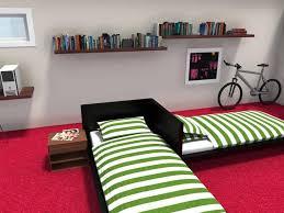 dorm room furniture ideas. RoomSketcher-Dorm-Room-Furniture-Layout-Cool-Bed-Idea Dorm Room Furniture Ideas