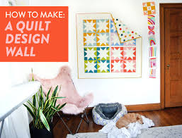 How to Make a Quilt Design Wall - Suzy Quilts & How-Make-Quilt-Design-Wall Adamdwight.com