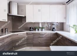 Beige Kitchen cozy beige kitchen interior wooden cupboards stock photo 289803257 6327 by guidejewelry.us