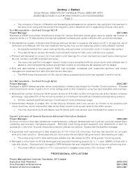 Client Relationship Management Resume Resume Of It Manager Client Relationship Manager Resume Store
