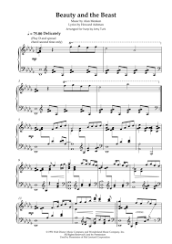 beauty and the beast sheet music beauty and the beast harp solo noten pinterest digital sheet
