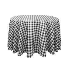 round polyester tablecloths feature black s m l f accessories