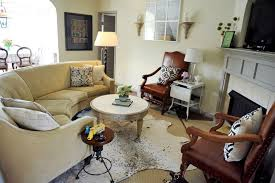 include the sofa or sectional in circular groupings