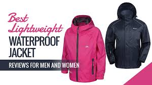 best lightweight waterproof jacket reviews for men and women