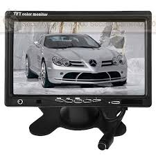 car inch pillow tft lcd color monitor ch video input