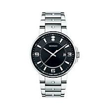 movado watches ladies men s movado designer watches ernest jones movado se pilot men s stainless steel bracelet watch product number 1334212