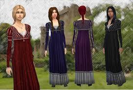 Juliette Dress Conversion   Sims 4 clothing, Dresses, Fantastic clothes