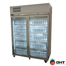 x glass door fridge stainless steel