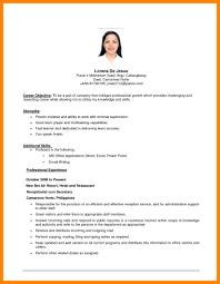 Basic Resume Objective Statement Examples Artikelonline Xyz