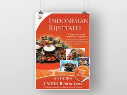 Food Design Poster Poster Design Food Menu Indonesian Risjttafel By A Fifah On