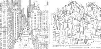 Contemporary New York City Skyline Coloring Pages Ensign Printable