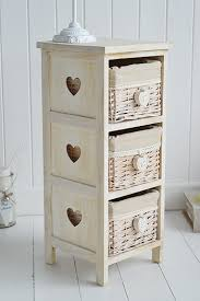 narrow bedside table with drawers.  Narrow Narrow Bedside Table Inside With Drawers The White Lighthouse