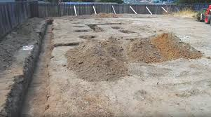 concrete foundation in one pour