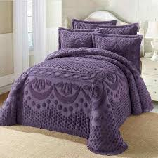 purple chenille bedspreads king size - Bedspreadss.Com ... & purple chenille bedspreads king size Adamdwight.com