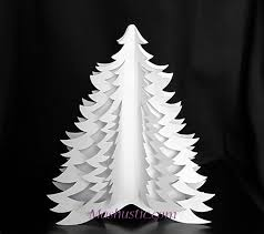 How to make 3D paper Christmas tree | Mashustic.com
